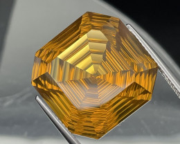 26.35 Cts Master Cut Fine Quality Natural Honey Quartz Eye Clean