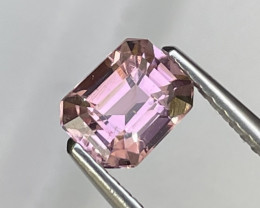 Baby Pink Custom Cut Natural Tourmaline Top Grade Afghanistan 0.91 Cts