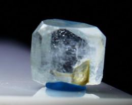 NR!!! 5.90 Cts Natural & Unheated~ Blue Aquamarine Crystal