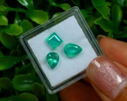 2.60Ct Natural Afghanistan Panjshir Emerald Green B0215