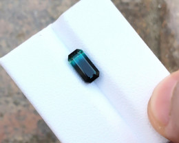 1.65 Ct Natural Bi Color Transparent Tourmaline Ring Size Gemstone