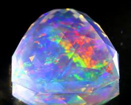 8.72Ct ContraLuz Precision Cut Mexican Very Rare Species Opal B0230