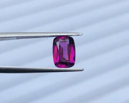 2.35  CT Beautiful Luster Grape Color Garnet -Africa