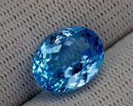 11.25CT BLUE TOPAZ BEST QUALITY GEMSTONE IIGC34
