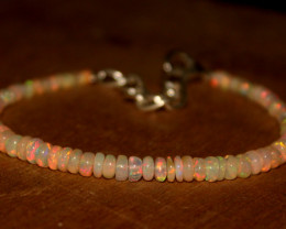 17 Crts Natural Ethiopian Welo Opal Bracelet 366