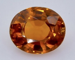 1.14 Crt Natural Spessartite Garnet Faceted Gemstone.( AB 22)