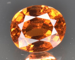 A Top Spessartite Garnet 1.04 CTS Gem