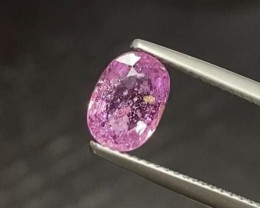1.68ct UNHEATED Pink Sapphire - Madagascar  8.4 x 6.0mm