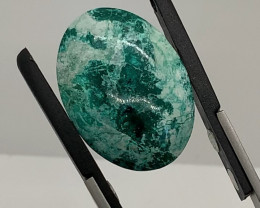 29.91 Ct Mexican Chrysocolla Cabochon