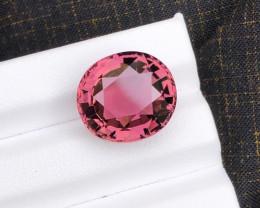 10.50 carats natural pink color tourmaline gemstone
