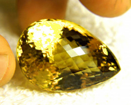 76.7 Carat Natural VVS1 Brazil Fancy Citrine - Superb