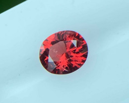 Spinel 0.41 Cts  Red Step cut BGC1391 | From Burma