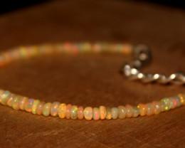 14 Crts Natural Ethiopian Welo Opal Bracelet 362