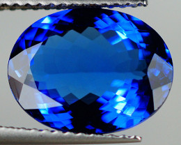 $1500 4.35 CT GIL CERTIFIED !!  Natural D-Block Blue Tanzanite -TN48