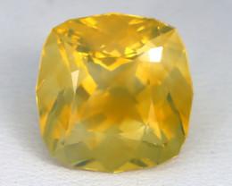 6.78Ct Mexican Fire Opal Crystal Flash Fire Opal Precision Cut A0437