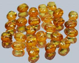 28.76 Cts Natural Fanta Orange Spessertite Garnet Sugarloaf  Namibia