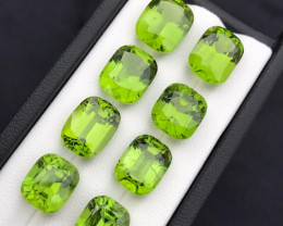 Gorgeous Color 47.05  ct Peridot Lot Jewelry Pieces