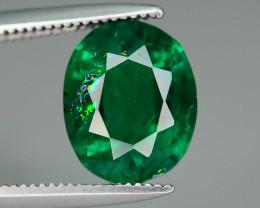 AIGS Certified Vivid Dark Forest Green 2.32 ct Emerald ~ Brazil
