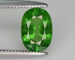 Lovely Cut 1.05 ct Tsavorite Garnet Ring Size