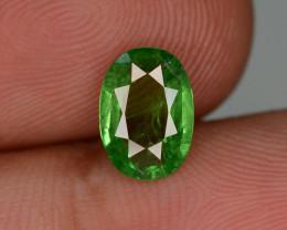 Lovely Cut 1.40 ct Tsavorite Garnet Ring Size