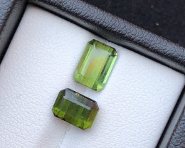 Top Grade 3.95 ct lovely Tourmaline Ring Size Pair