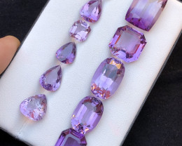 Top Grade 99.95ct Amethyst  Ring Size Parcel