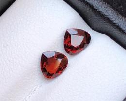 Top Grade 2.15 ct Spesartite Garnet Ring Size