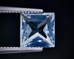 1.27 Crt Aquamarine Faceted Gemstone (Rk-98)