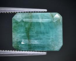6.38 Crt  Emerald Faceted Gemstone (Rk-98)