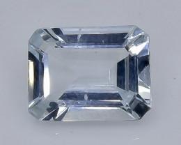 1.89 Crt  Aquamarine Faceted Gemstone (Rk-98)