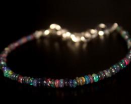 12 Crt Natural Ethiopian Welo Smoked Opal Bracelet 354