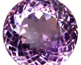 19.84Cts Natural Stunning Pink Kunzite Round Shape 15.8mm Loose Gem Ref VDO