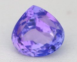 2.81Ct VVS Pear Cut Natural Unheated BiColor Tanzanite B0519