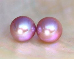 8.0mm 7.59Ct Natural Australian South Sea Purple Color Pearl C0611