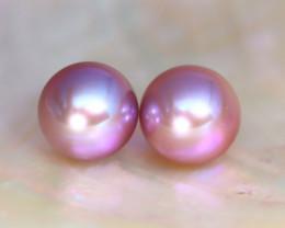 8.0mm 7.59Ct Natural Australian South Sea Purple Color Pearl C0611