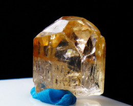 NR!!! 14.40 Cts Natural & Unheated~ Orange Brown Topaz Crystal
