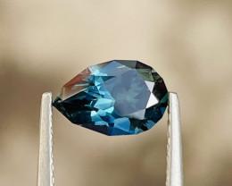 1.35ct Unheated teal sapphire