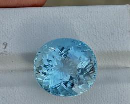 13.95 CTS Top Blue Aquamarine Gem