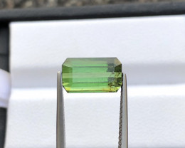 3.00 ct Slightly Included Green Congo Tourmaline