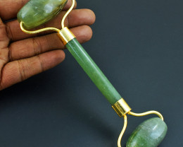 Genuine Aventurine Massage Wand  Roller