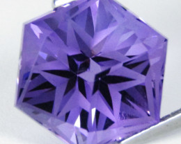 8.29Cts Unique Ultra Quality Natural Amethyst Fashion octagonal Cut Loose G