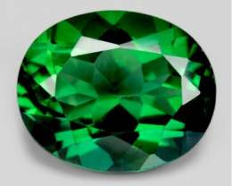 *NoReserve* Green Topaz 4.37 Cts Very Rare Mined Natural Gemstone