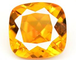 *NoReserve*Mystic Quartz 6.51 Cts Rare Orange Color Natural