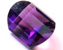 AMETHYST FACETED STONE 1.85 CTS CG - 677