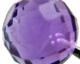 AMETHYST BALL DRILLED 2.10 CTS [TS423 ]