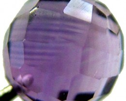 AMETHYST BALL DRILLED 2.40 CTS [TS435 ]