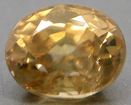 .95 CTW GOLDEN BROWN ZIRCON