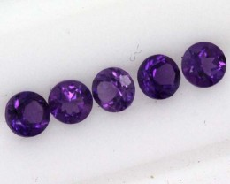 0.75 CTS AMETHYST FACETED STONE (PARCEL)  CG-1025