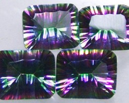 PARCEL OF 4 'GALAXY' MYSTIC QUARTZ 11CTS [S4708 ]