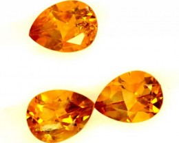 CITRINE NATURAL FACETED HIGH CLARITY 2.90CTS ADG-609